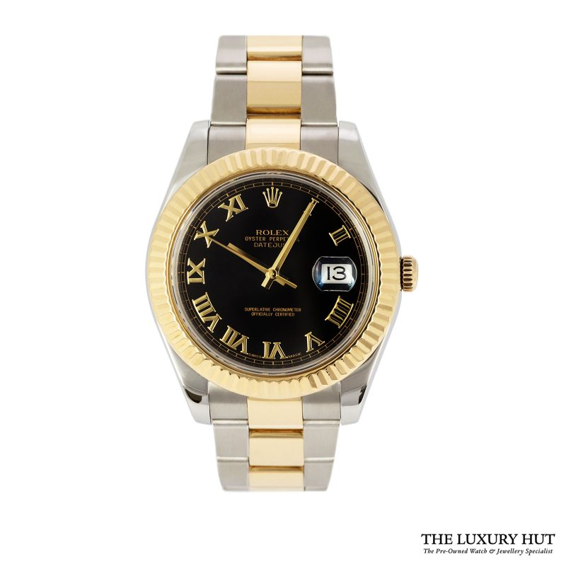 Rolex Datejust II 116333 Bi-Metal 41mm Black Dial - 2011 -Order Online Today For Next Day Delivery