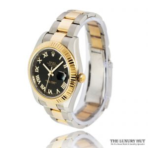 Rolex Datejust II 116333 Bi-Metal 41mm Black Dial - 2011 -Order Online Today For Next Day