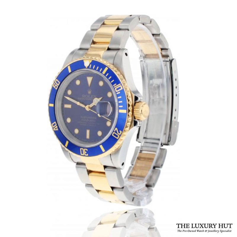 Rolex Submariner Bi-Metal 40mm Blue Dial Ref: 16613 - Order Online Today For Next Day