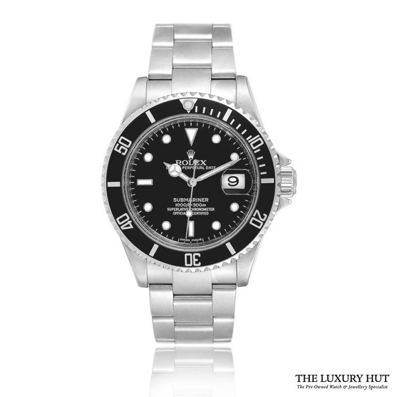 Rolex Submariner 16610 Steel 40mm Black Dial - 2015 - Order Online Today For Next Day Delivery
