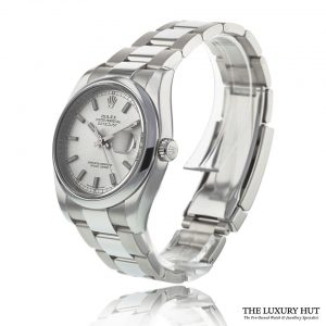 Rolex Datejust Steel 36mm Silver Dial Ref: 116200 - Order Online Today For Next Day