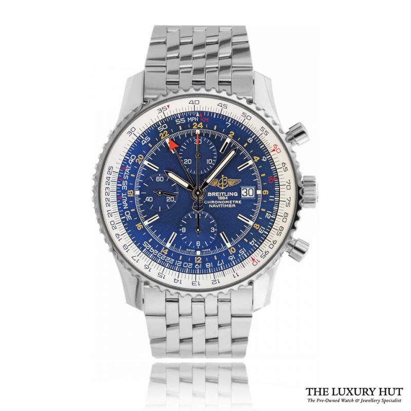 Breitling Navitimer World Steel A2432212/C651 - Order Online Today For Next Day Delivery