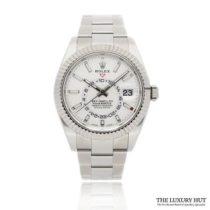 Rolex Sky-Dweller 326934 Steel White Dial - The Luxury Hut - Order Online Today For Next Day Delivery