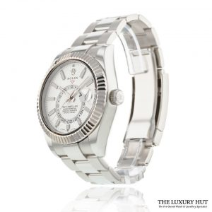 Rolex Sky-Dweller 326934 Steel White Dial - The Luxury Hut - Order Online Today