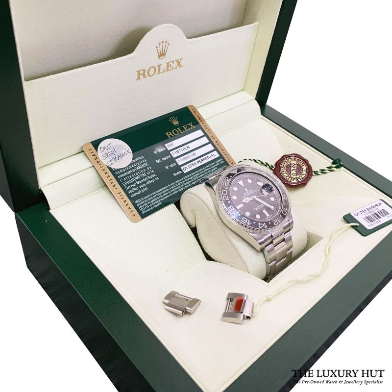 Rolex GMT Master II Ref: 116710LN Steel 40mm Black Dial - Delivery