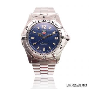 Tag Heuer 2000 Professional Series Blue Dial Ref: Wk1113 – 1990s - Order Online Today For Next Day Delivery