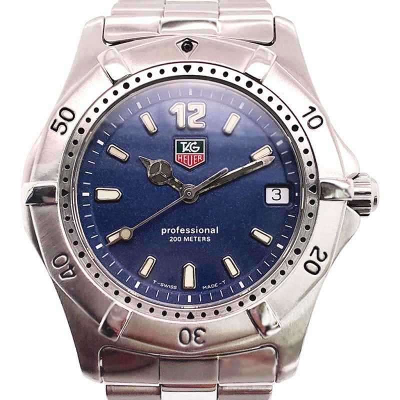 Tag Heuer 2000 Professional Series Blue Dial Ref: Wk1113 – 1990s