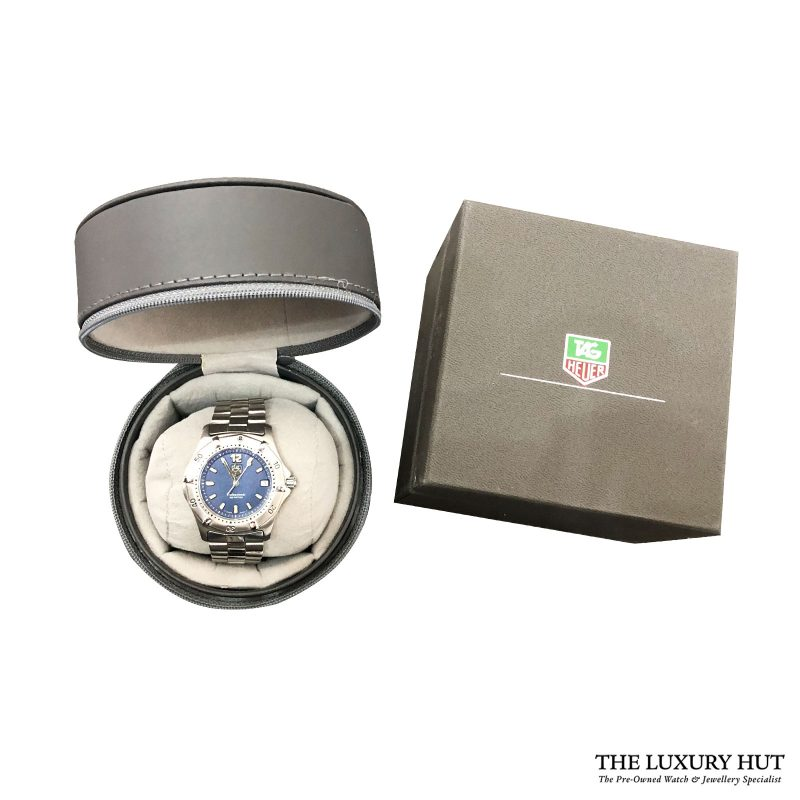 Tag Heuer 2000 Professional Series Blue Dial Ref: Wk1113 – 1990s - Order