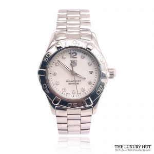 Tag Heuer Aquaracer White Mother Of Pearl WAF1415 - Order Online Today For Next Day Delivery