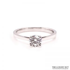Platinum Certified 0.52ct Solitaire Engagement Ring Ref 14722 Order Online Today For Next Day Delivery