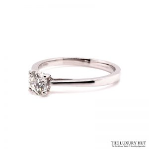 Platinum Certified 0.52ct Solitaire Engagement Ring Ref 14722 Order Online Today For Next Day