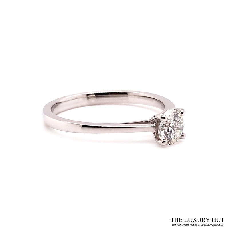 Platinum Certified 0.52ct Solitaire Engagement Ring Ref 14722 Order