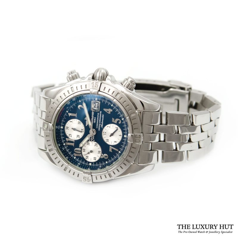 Breitling Chronomat Evolution Watch Ref: A13356 - Order Online Today For Next Day Delivery