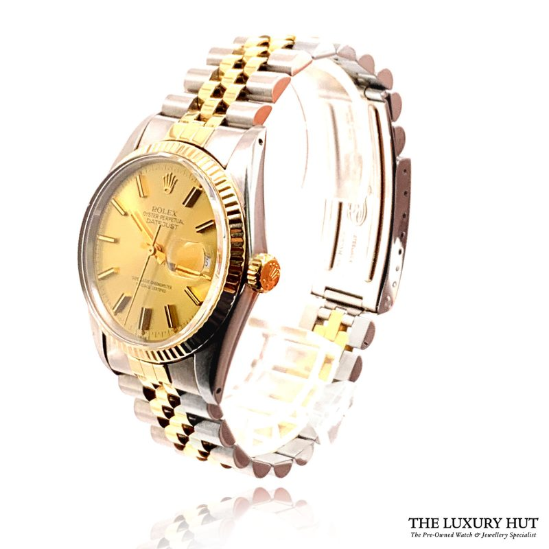 Rolex Datejust Bi-Metal 36mm Champagne Dial Ref: 16013 - Rolex - Order Online Today For Next Day