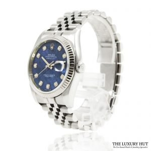 Rolex Datejust 36mm Diamond Sodalite Dial Ref:116234 - 2011 - Order Online Today For Next Day