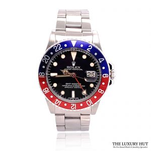 Rolex Vintage GMT Master 2 Pepsi 1978 Mark 5 Ref 1675 Order Online Today For Next Day Delivery