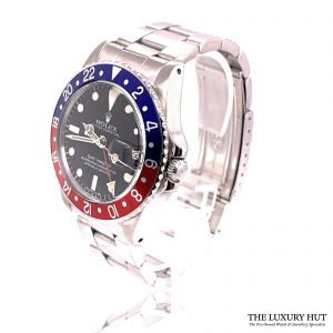Rolex Vintage GMT Master 2 Pepsi 1978 Mark 5 Ref 1675 Order Online Today For Next Day