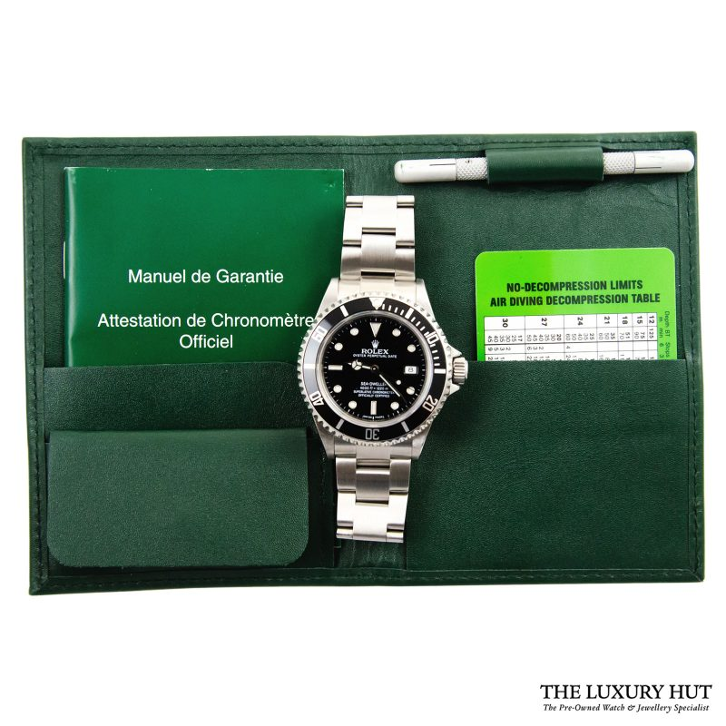 Rolex Sea Dweller – 2008 Full Set Ref 16600 Order