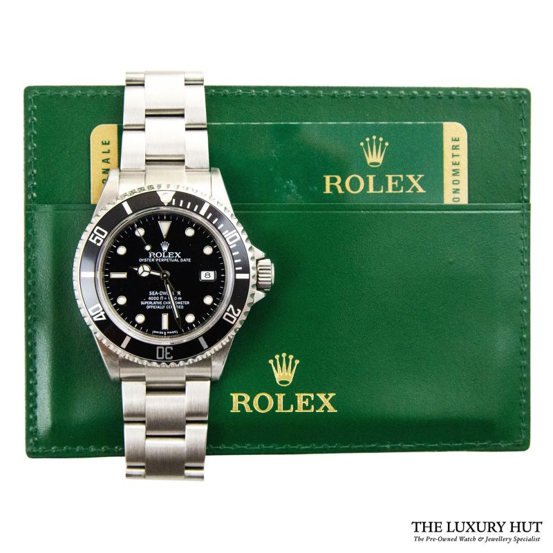 Rolex Sea Dweller – 2008 Full Set Ref 16600 Order Online Today Delivery