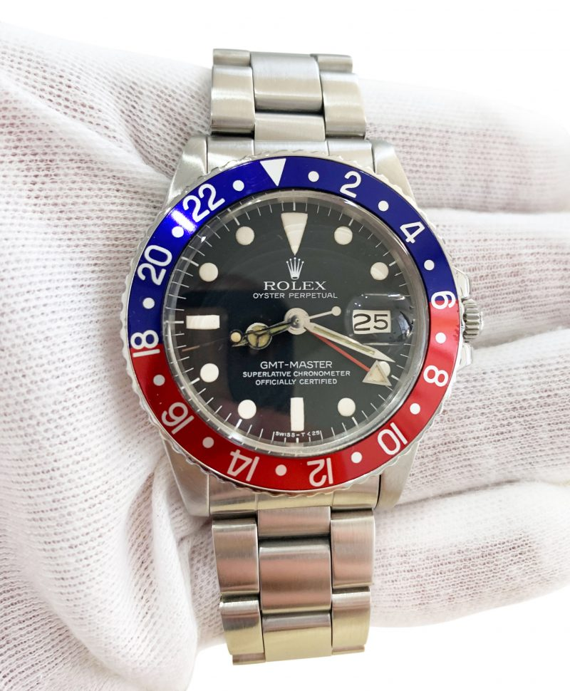 Rolex Vintage GMT Master 2 Pepsi 1978 Mark 5 Ref 1675 Order Online Today Delivery