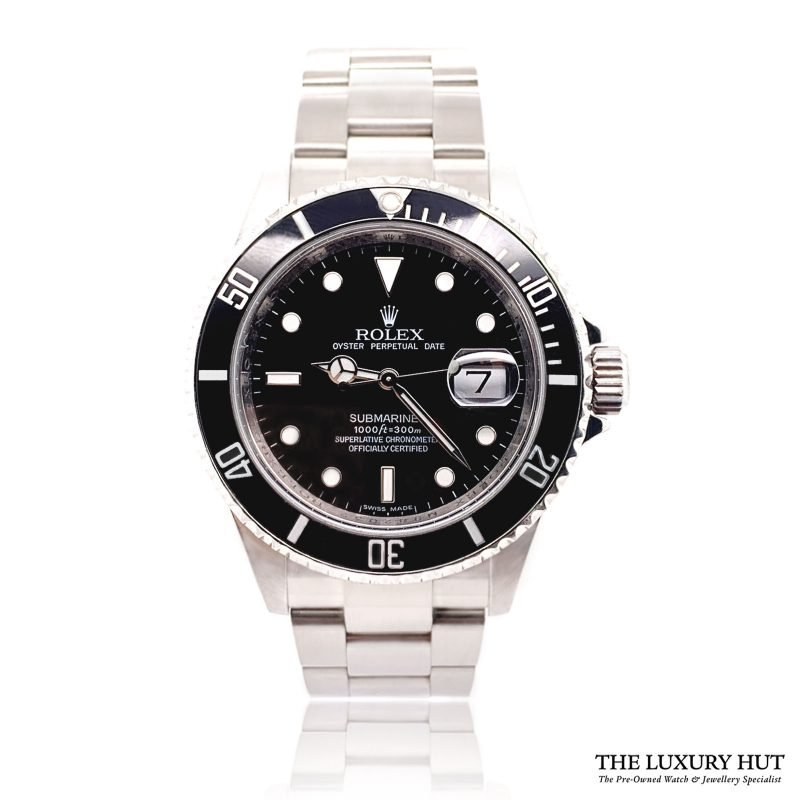 Rolex 2008 Submariner Oyster Date 16610T Watch - Order Online Today For Next Day Delivery
