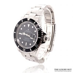 Rolex 2008 Submariner Oyster Date 16610T Watch - Order Online Today For Next Day