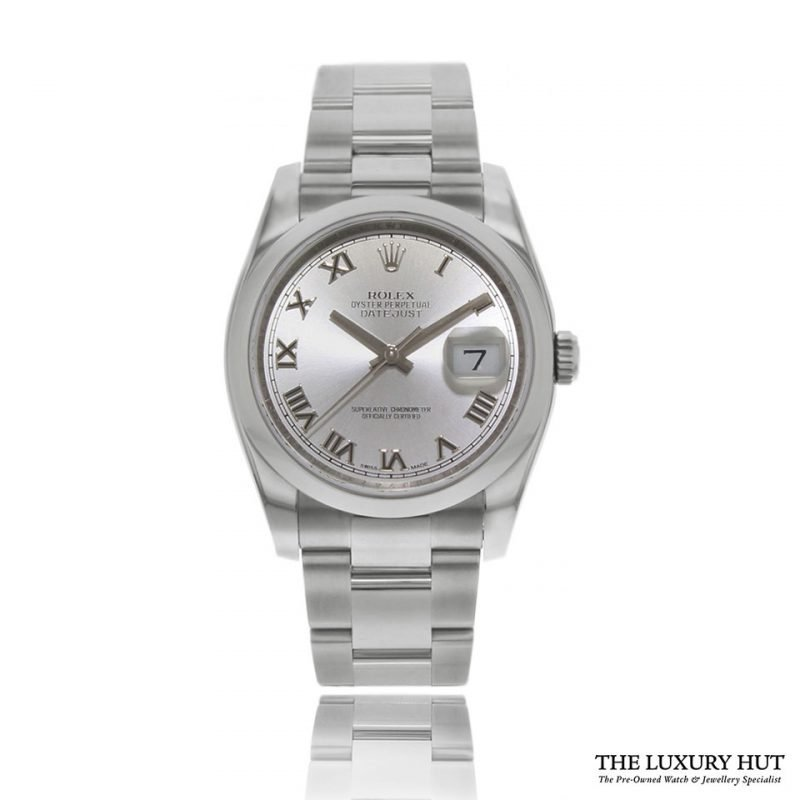 Rolex 2008 Oyster Perpetual Datejust Ref 116200 Watch - Order Online Today For Next Day Delivery