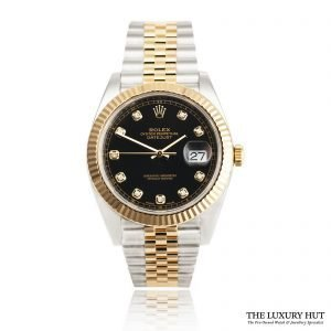 Rolex DateJust II Steel And Gold 41 – 2019 Full Set Ref 126333 Order Online Today For Next Day Delivery