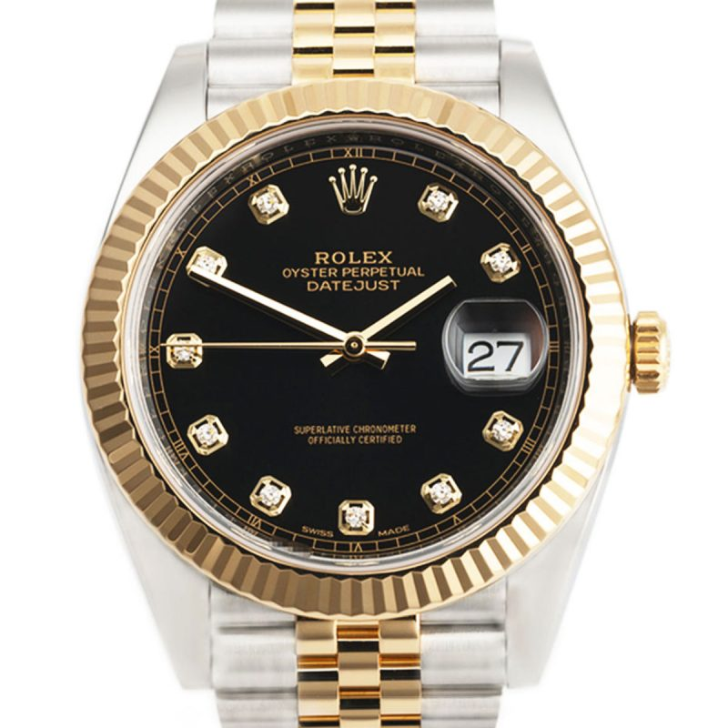 Rolex DateJust II Steel And Gold 41 – 2019 Full Set Ref 126333 Order Online
