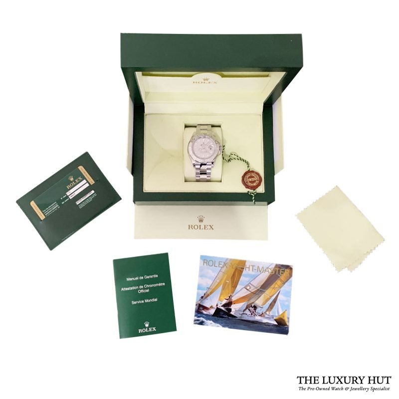 Rolex 2012 Yacht-Master Oyster Perpetual Ref 16622 Watch - Order