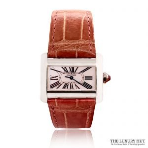 Cartier Tank Divan Mother Of Pearl – Ref 2599 Order Online Today For Next Day Delivery