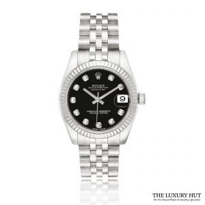 Rolex Ladies Steel Oyster Perpetual DateJust 2018 Watch Ref 178274 Order Online Today For Next Day Delivery