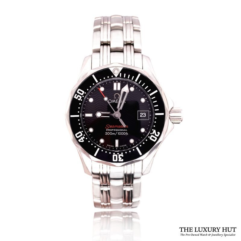 Omega Seamaster Diver 300M Quartz Black Dial Watch Order Online Today For Next Day Delivery