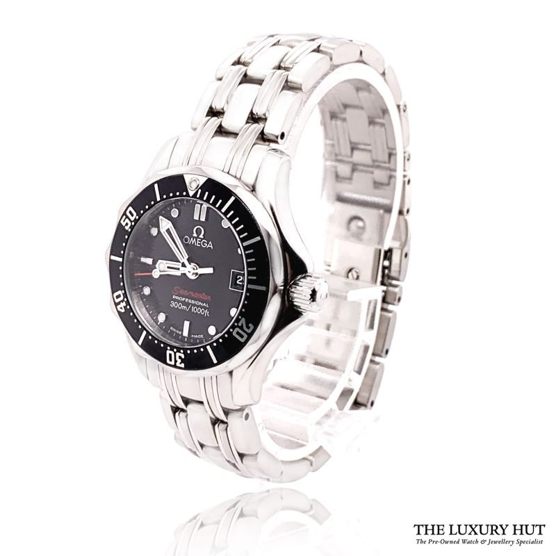 Omega Seamaster Diver 300M Quartz Black Dial Watch Order Online Today For Next Day