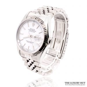 Rolex Datejust Steel 36mm Watch Ref:16234 – Rare Full Set – Order Online Today For Next Day