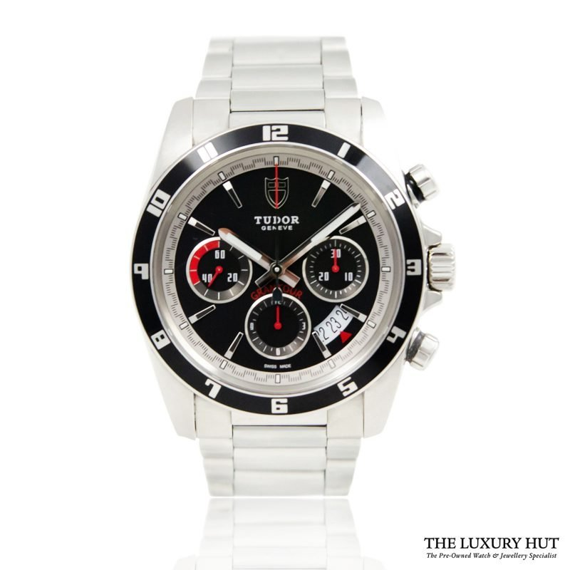 Tudor Grantour Chronograph 2016 Watch Ref 20530N Full Set - Order Online Today for next day delivary