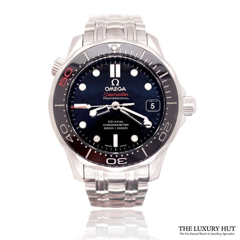 Steel Omega Seamaster Diver 300M Automatic Watch - Order Online Today For Next Day Delivery
