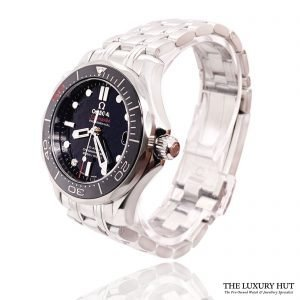 Steel Omega Seamaster Diver 300M Automatic Watch - Order Online Today For Next Day