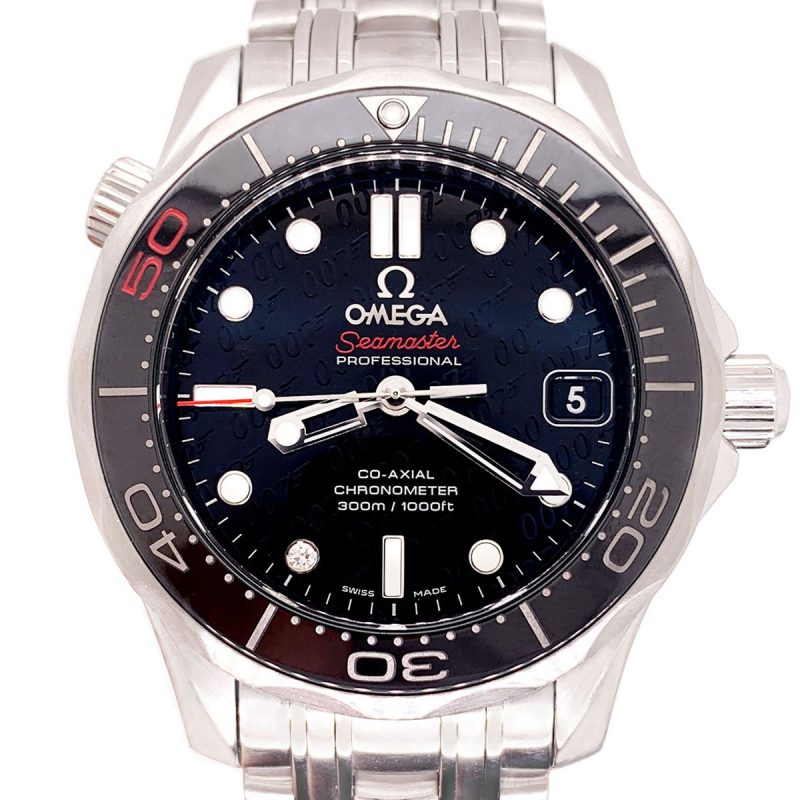 Steel Omega Seamaster Diver 300M Automatic Watch - Order Online