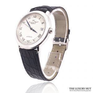 IWC Rare Platinum Automatic Date Watch Ref: IW3209 - Order Online Today For Next Day