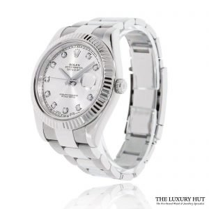 Rolex DateJust II Steel 41 Diamond Dial Ref 116334 Order Online Today For Next Day