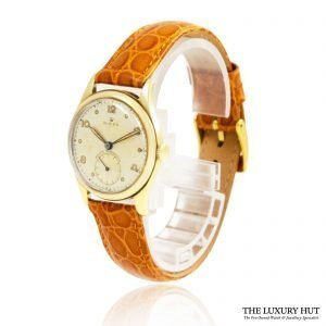 Rolex Vintage 9ct Gold Small Seconds Watch Order Online Today For Next Day