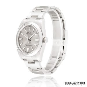 Rolex Oyster Perpetual Silver Dial Watch Ref:116000 Order Online Today