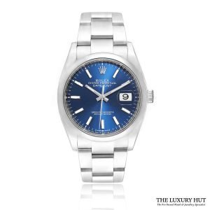 Rolex Datejust 36mm Blue Dial Watch Ref: 126200 Order Online Today For Next Day Delivery