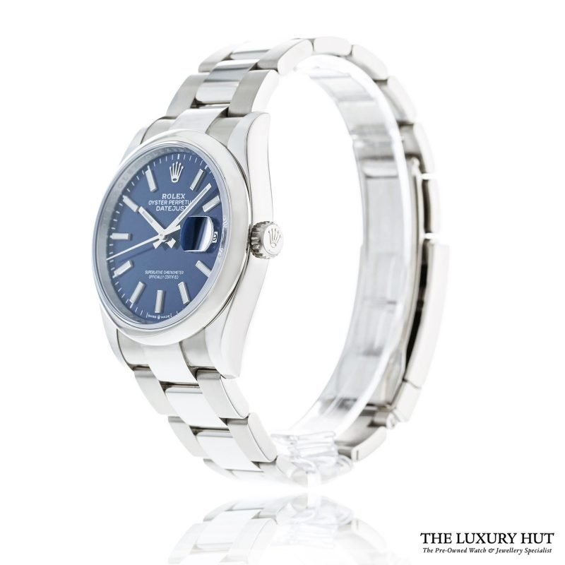 Rolex Datejust 36mm Blue Dial Watch Ref: 126200 Order Online Today For Next Day