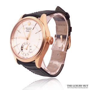 Rolex Cellini Dual Time 18ct Rose Gold Ref: 50525 Order Online Today For Next Day