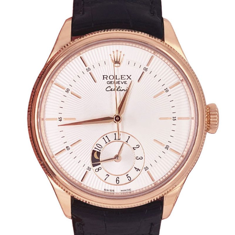 Rolex Cellini Dual Time 18ct Rose Gold Ref: 50525 Order Online