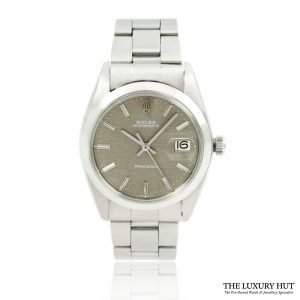 Rolex Oysterdate Precision 6694 Linen Frosted Dial - Order Online Today For Next Day Delivery - Sell Your Rolex To The Luxury Hut London
