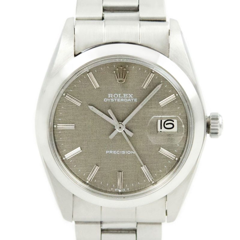 Rolex Oysterdate Precision 6694 Linen Frosted Dial - Order Online Today For Next Day Delivery