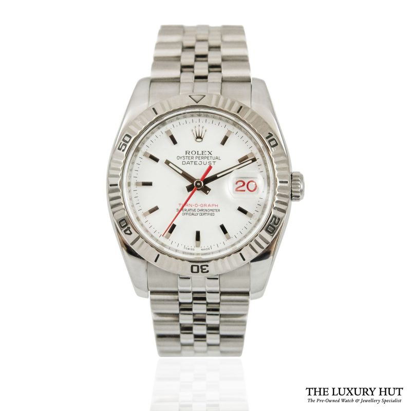 Rolex Datejust Turn-O-Graph Oyster Perpetual - 2008 Ref 116264